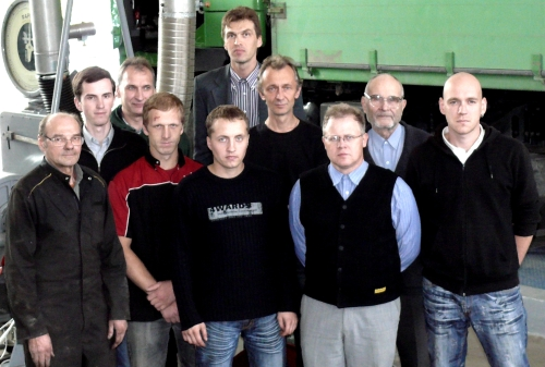 Team of scientific laboratory of biofuels