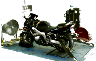 Motorcycle power increasing research for student's bachelor paper